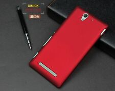 For SONY Xperia C3 S55T Ultra Thin Matte Rubber Hard PC Back Case Cover Skin