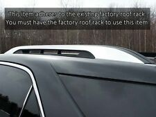 """Chrome Stainless Steel """"Stick-On"""" TRIMS for Chevy Equinox GMC Terrain Roof Rack"""