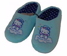 Hello Kitty Kinder Hausschuhe Türkis und Rosa NEU