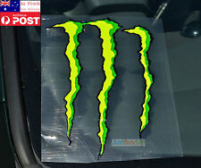 Green Monster Vinyl Car Truck Body Rear Window Glass Sticker 23cm