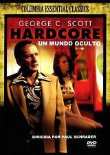 Hardcore, Un Mundo Oculto (Hardcore) (Import) Peter Boyle, George C. Scott NEW