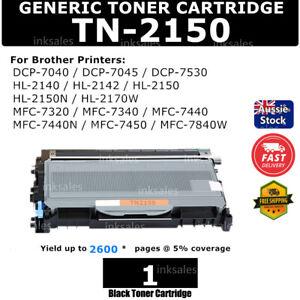 1x Toner TN2150 TN 2150 for Brother HL2140 HL2150N MFC7340 DCP7040 HL2142 TN2130