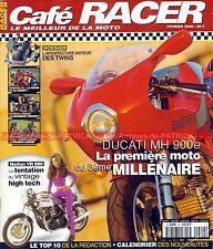 Café Racer 29 DUCATI MH 900 E MHE NORTON VR 880 TRIUMPH LEGEND TT GUZZI JACKAL