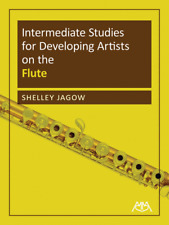 """""""Intermediate Studies for Developing Artists on the Flute"""" Music Book-Brand New!"""