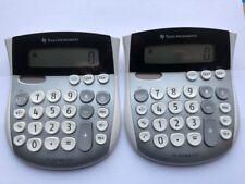Texas Instruments TI1795SV Solar & Battery Large Digital Desk Calculator X 2