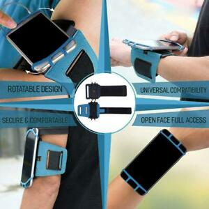 Mobile Phone Bag Arm Hanging Holder 180°Rotatable Operation Running band D4P1