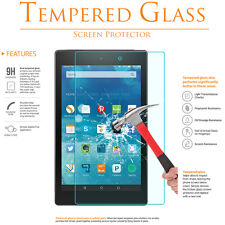 For Amazon Kindle Fire HD 8 (7th Gen) 2017 Tempered Glass Screen Protector