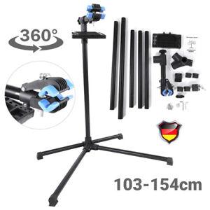 Eisen Montageständer Fahrradständer Reparaturständer Höhenverstellbar 103-154cm