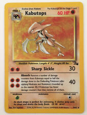 Kabutops - Holo # 9/62 Fossil Nintendo GameFreak Wizards WotC card Pokemon 1999