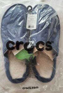 BNWT Men's Crocs Slipper Mules Size 13, Navy