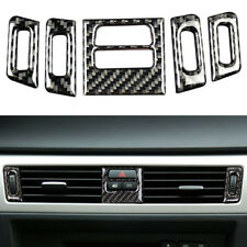 For BMW 3 Series E90 E92 Carbon Fiber Decal Car Air Conditioner Cover Trim L-CFG