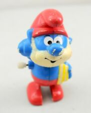 Vintage 1982 Galoob Papa Smurf Wind-Up Toy