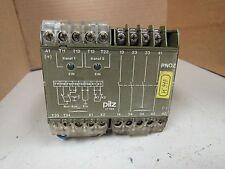 PILZ PN0Z 24VDC 3S 1ö SAFETY RELAY 474695 17753 3,5W 250/400VAC 8/5 A AMP 2000VA
