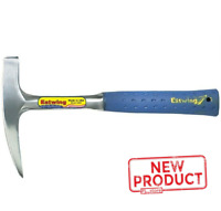 14 Oz Rock Pick Hammer Pointed Tip Solid Steel Striking Hand Tool Shop Blue NEW