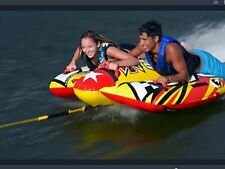Xtreme Dash Xtreme Dash 2 Person Rider Deck Tube Boat Towable Inflatable New