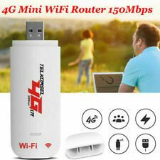 Portable 4G LTE Car WIFI Router Hotspot 150Mbps Wireless USB Dongle SIM Card CS