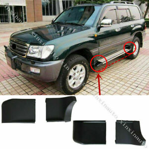 4X For Toyota Land Cruiser 1998-07 Nerf Bars Running Boards Ends Protection Cap