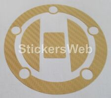 Adesivo Tappo Serbatoio SUZUKI GSX-R600 2004-2011 (Carbonio ORO) Cod.0504