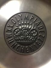 Antique Rare Piece Of History 1972 Munich Olympic Pewter  Roders - ARS