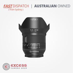 IRIX Firefly 11mm F/4.0 Canon EF Mount Lens -Australian Stock -Ships from Sydney