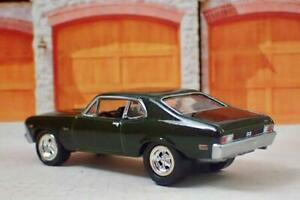 1969 69 Chevrolet Nova V-8 SS Super Sport Muscle Car 1/64 Scale Limited Edit J