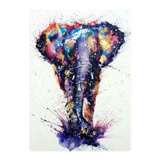 5D Diamond Mosaic Painting Elephant Embroidery Cross Stitch Home Wall Decor Gift