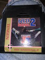 RBI Baseball 2 Nintendo NES Video Game Cart