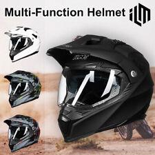 ILM Motocross Dual Sports Helmet Dirt Bike ATV Motorcycle Downhill Off-Road DOT