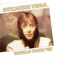 SUZANNE VEGA 1987 SOLITUDE STANDING TOUR CONCERT PROGRAM BOOK-PROOF-NM~MT