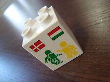 EXTREMELY RARE LEGO DUPLO PROMOTIONAL BRICK - OLD FACTORY HUNGARY