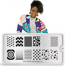 MoYou London HOLY SHAPES 10 Collection Stamping Schablone, Punkte Dots XXL