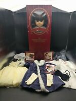 """American Girl Pleasant Company Samantha 18"""" Historical Doll with accessories!"""