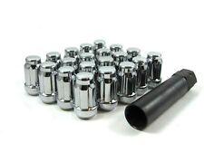 20 Pc Set Spline Tuner Lug Nuts 12x1.5 Chrome For Lexus Scion SC430 xB xD