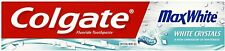 Colgate Max White Crystal Whitening Toothpaste, 125 ml - Mint (4 PACK)