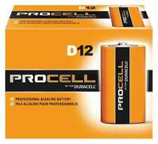 DURACELL PC1300 Procell Alkaline D Battery, 12PK