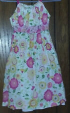 Girls Size 12 George Dress with flowers church Easter spring summer
