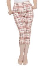 Regular Size Capri, Cropped Trousers for Women