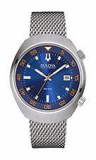 Bulova Accutron II Men's 96B232 Lobster UHF Blue Dial Mesh Bracelet 42.5mm Watch