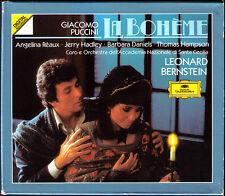 Puccini: la Boheme Angelina Reaux Jerry Hadley Thomas Hampson succinico 2cd PDO