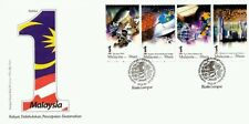 1 Malaysia Collection 2010 Satellite Earth Space Rocket Flag (stamp FDC)