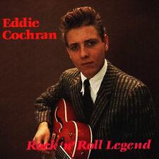 EDDIE COCHRAN Rock 'n' Roll Legend CD 1950s ROCKABILLY Brand New CD