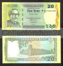 Bangladesh 20 Taka 2012 Unc pn 55a