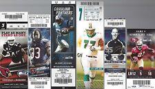2012 NFL SEAHAWKS UNUSED FOOTBALL TICKETS HOME & AWAY NEAR COMPLETE SET - WILSON