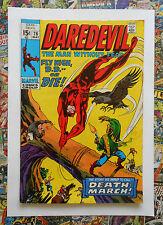 DAREDEVIL #76 - MAY 1971 - DEATH OF EL CONDOR! - FN/VFN (7.0) CENTS COPY!!