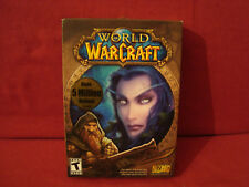 WORLD OF WAR CRAFT NEW IN BOX PC GAME 2004 COMPLETE WITH CARDS & MANUAL RATED T