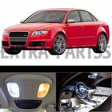 21x White Interior LED Lights Package Kit for 2002-2008 Audi A4 S4 B6 B7 Sedan