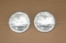New Listing2 Sealed Beam Tractor Headlights Auto Bulb Lights 35w 12v 45 Replaces Ge 4411