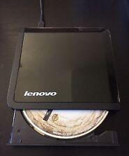 Lenovo Slim USB Portable DVD Burner 0A33988 DVD / DVD-RW Black USB 2.0