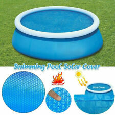 Solar Pool Cover for 4, 5, 6, 8 &10ft Inflatable Fast Set Paddling Swimming Pool