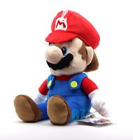 "GENUINE Super Mario Bros Mario Classic Plush All Star 14"" Little Buddy 1583"